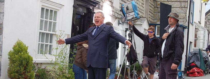 Doc Martin Filming