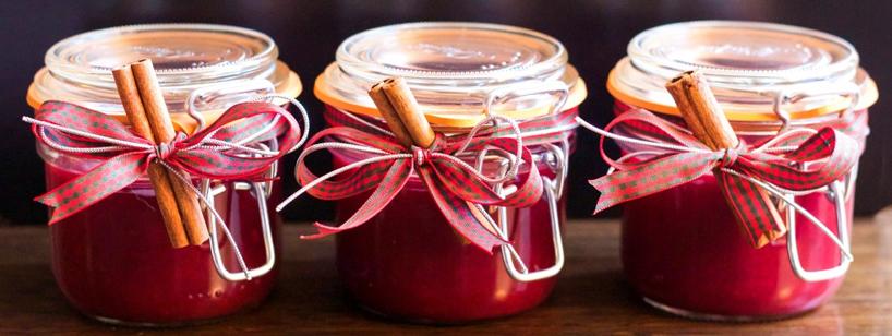 Christmas Preserve Jars